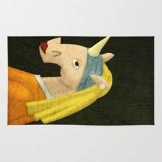The Unicorn with the Pearl Earring Rug