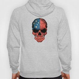 Dark Skull with Flag of Samoa Hoody