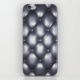 Beige upholstery pattern iPhone Skin