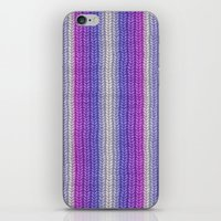 knitting iPhone & iPod Skins featuring grannys knitting  by MehrFarbeimLeben