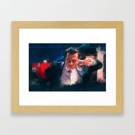 Vincent Vega Dance The Twist - Pulp Fiction Framed Art Print