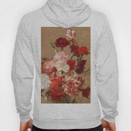 Henri Fantin Latour - Carnations Without Vase Hoody