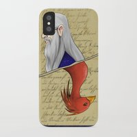 dumbledore iPhone & iPod Cases featuring Albus Dumbledore by Imaginative Ink
