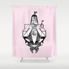 radical self-love Shower Curtain