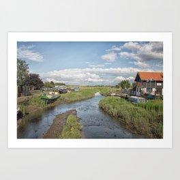 Battlesbridge Art Print
