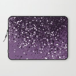 PURPLE Glitter Dream #1 #shiny #decor #art #society6 Laptop Sleeve