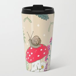 Toadstools in the Woods Travel Mug