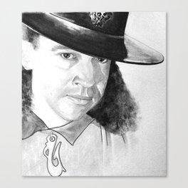 STEVIE RAY  Canvas Print