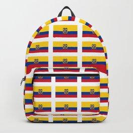 Flag of Ecuador 2- Ecuadorian,Kichwa,Inca,Guayaquil,Quito Backpack