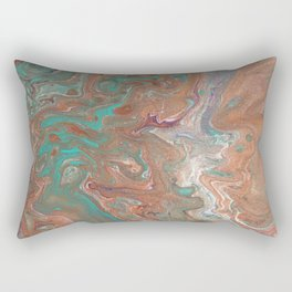 """Copperopolis"" by Laurie Ann Hunter Rectangular Pillow"