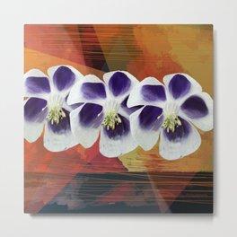 Flowers sisters Metal Print