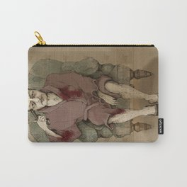 In bathrobe Carry-All Pouch