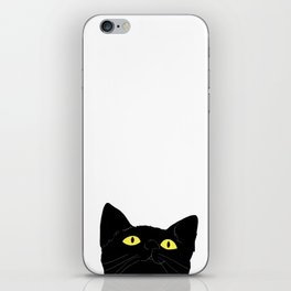 meow cat iPhone Skin