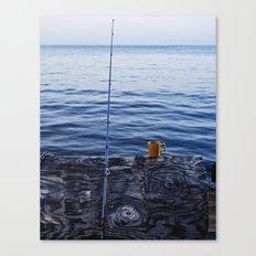 Sunrise Fishing  Canvas Print
