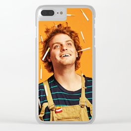 Mac Demarco Poster Clear iPhone Case