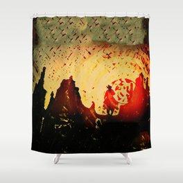 Sundowner Shower Curtain