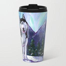 Animal Parade Husky Travel Mug
