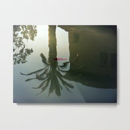 Moorish Reflection Metal Print