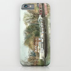 Rosa on the Grand Union Canal iPhone 6s Slim Case