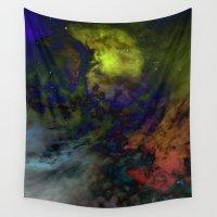 interstellar Wall Tapestries featuring Interstellar  by AURA by MJ