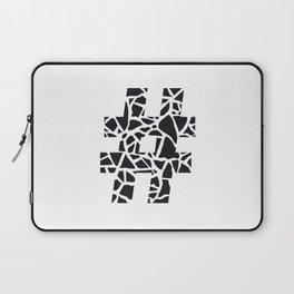 Hashtag Laptop Sleeve