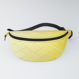 Herringbone Gradient Yellow Fanny Pack