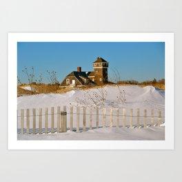 Sandy Hook House Art Print
