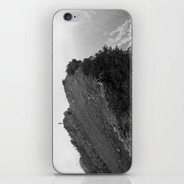 Black Mountain iPhone Skin