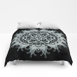 Mandala shadow Comforters