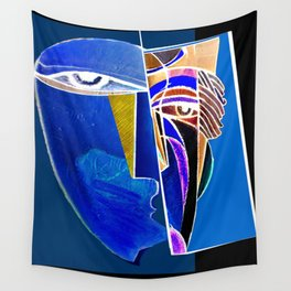 Metaphysical Head Wall Tapestry