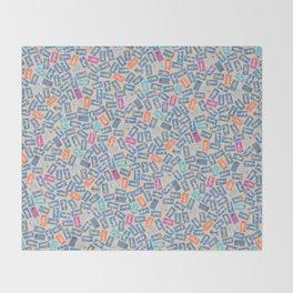 NUDE BEACH, pattern by Frank-Joseph Throw Blanket