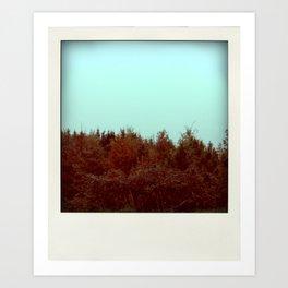 Autumnal smell Art Print
