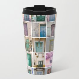 Door Collection Metal Travel Mug