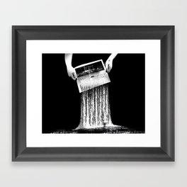 Waterfalling Framed Art Print
