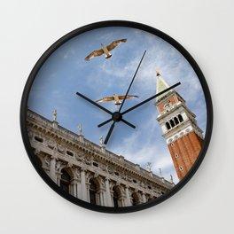 San Marco Seagulls Wall Clock