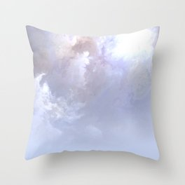Misty World Throw Pillow