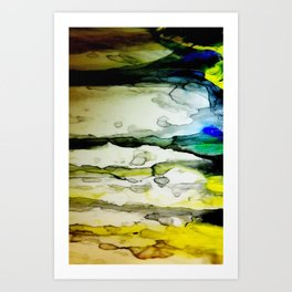 Paint Abstract Art Print