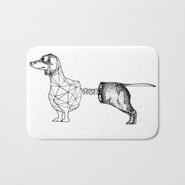 Slinky Dog Bath Mat