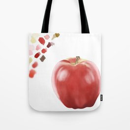 Apple Study with Palette Tote Bag
