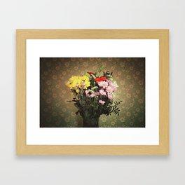 Flowers for her Framed Art Print
