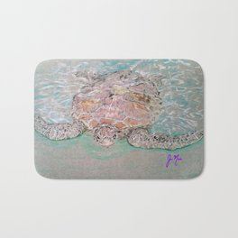 Green Sea Turtle Bath Mat
