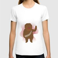 chewbacca T-shirts featuring chewbacca by Lalu - Laura Vargas