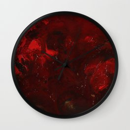 Thrombus Wall Clock