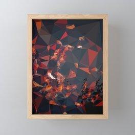 OFF FIRE Framed Mini Art Print
