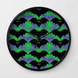 Bats And Bows Wall Clock