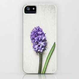 Lilac Hyacinth iPhone Case
