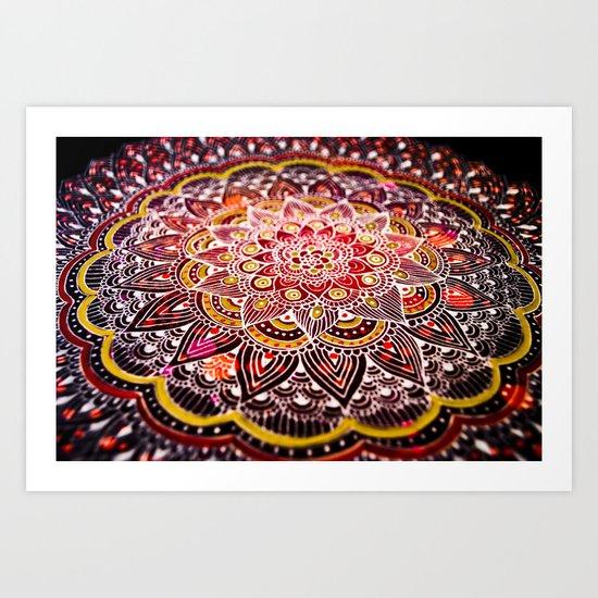 Cosmic Power  Art Print