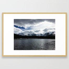 Bierstadt Lake,CO Framed Art Print