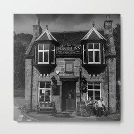 The Plough Inn Metal Print