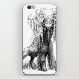 Salix babylonica iPhone Skin